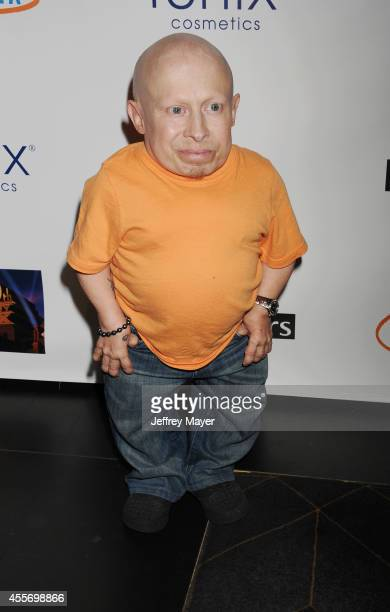 Actor Vern Troyer attends the Stars Get Lucky For Lupus 6th Annual Poker Tournament at Avalon on September 18 2014 in Hollywood California