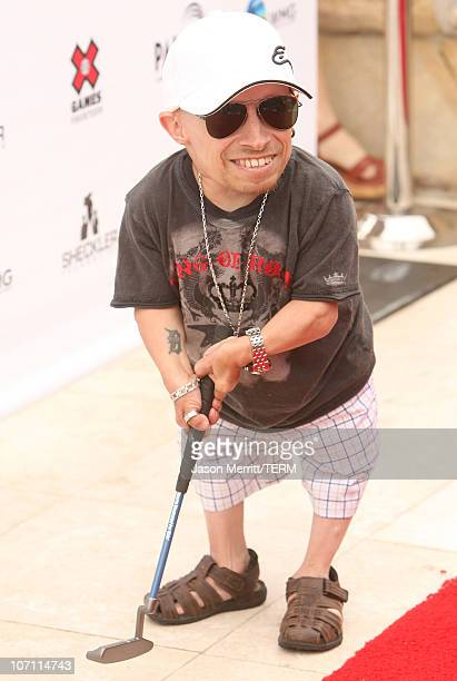 Actor Verne Troyer at the Ryan Sheckler X Games Celebrity Skins Classic in Rancho Palos Verdes on July 29 2008