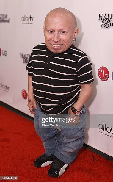 """Actor Verne Troyer attends a party for """"Haute & Bothered"""" Season 2 hosted by LG Mobile at the Thompson Hotel on May 10, 2010 in Beverly Hills,..."""