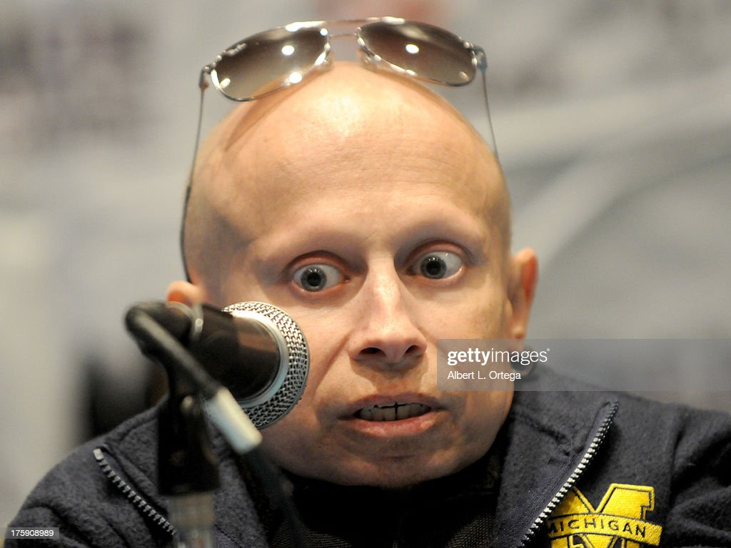 Actor Verne Troyer attends Day 1 of Wizard World Chicago Comic Con 2013 at the Donald E. Stephens Convention Center on August 9, 2013 in Rosemont, Illinois.