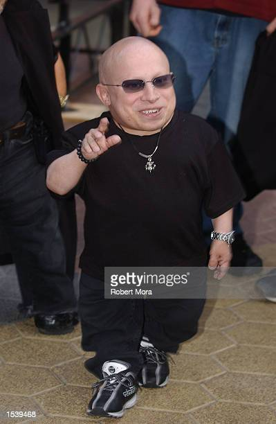 Actor Verne Troyer attends ESPN's Ultimate X movie premiere May 6, 2002 in Universal City, CA.