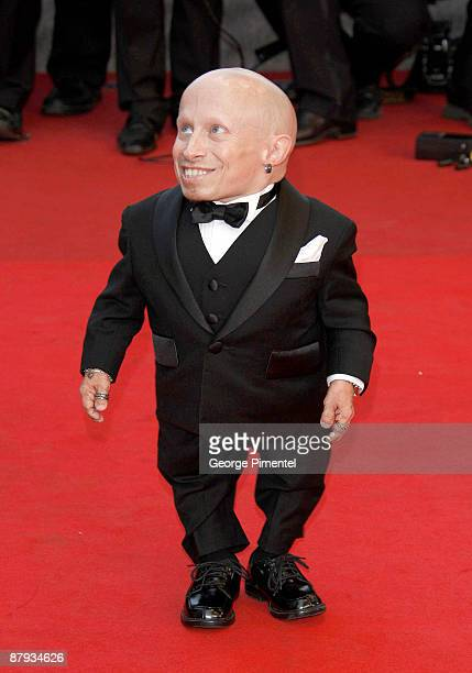 """Actor Verne Troyer attends """"The Imaginarium of Doctor Parnassus"""" premiere at the Palais De Festivals during the 62nd Annual Cannes Film Festival on..."""