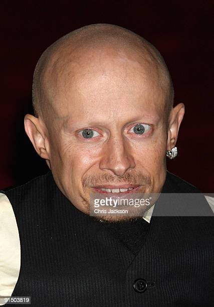 """Actor Verne Troyer attends """"The Imaginarium Of Doctor Parnassus"""" UK film premiere held at the Empire Leicester Square on October 6, 2009 in London,..."""