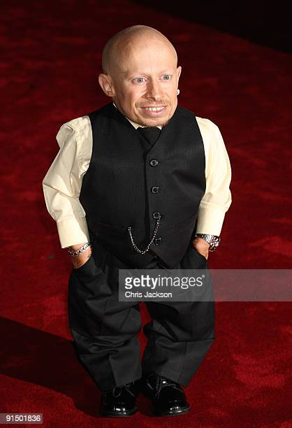 """Actor Verne Troyer attends the """"The Imaginarium Of Doctor Parnassus"""" UK film premiere held at the Empire Leicester Square on October 6, 2009 in..."""