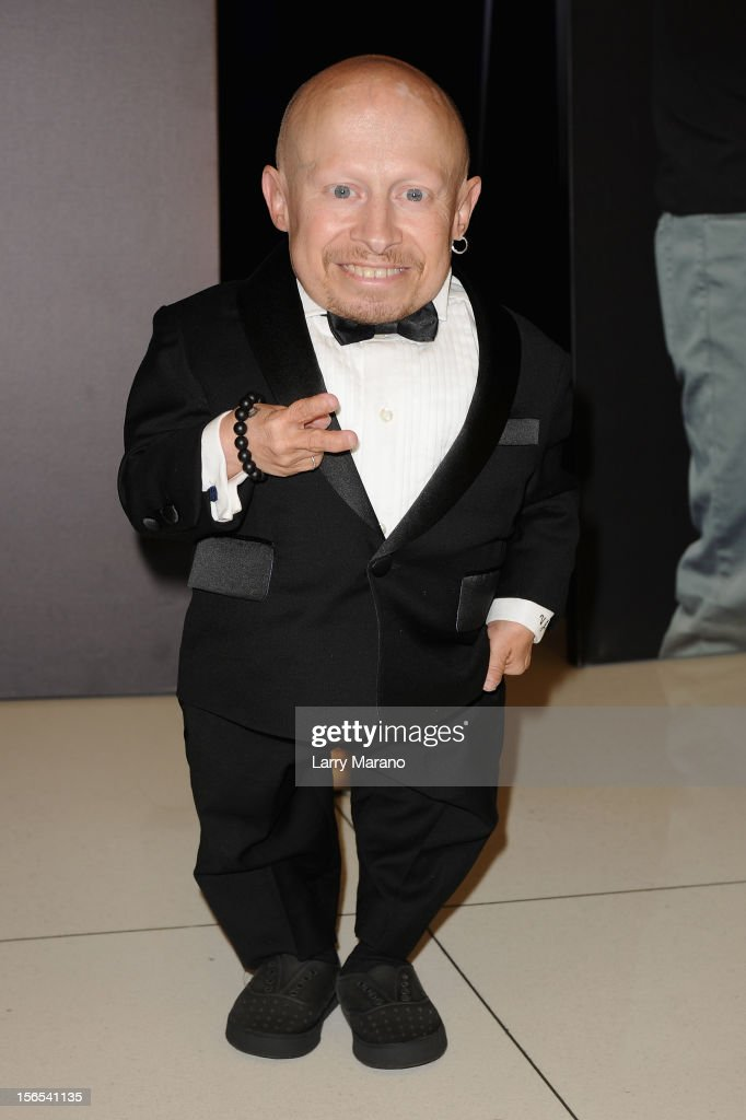 Actor Verne Troyer attends the Zenith Watches Best Buddies Miami Gala at Marlins Park on November 16, 2012 in Miami, Florida.