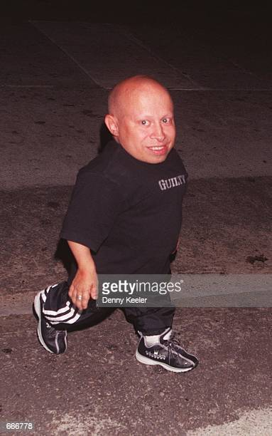 Actor Verne Troyer of Austin Powers The Spy Who Shagged Me out on the town October 8 2000 in Los Angeles CA