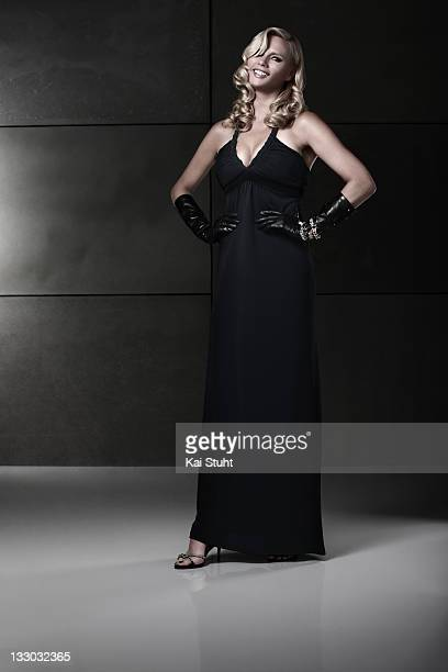 Actor Veronica Ferres is photographed on August 8, 2008 in London, England.