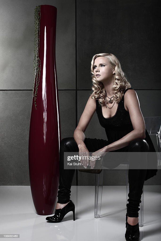 Veronica Ferres, Self assignment, August 8, 2008 : Nachrichtenfoto