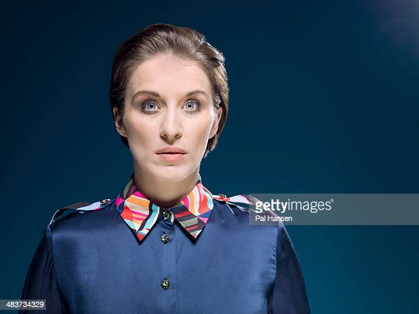 Actor Vicky McClure is photographed for the Observer on January 6 2014 in London England