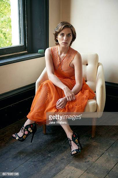 Actor Vicky McClure is photographed for the Observer on June 8 2016 in London England