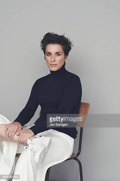 Actor Vicky McClure is photographed for the Telegraph on August 7 2015 in London England