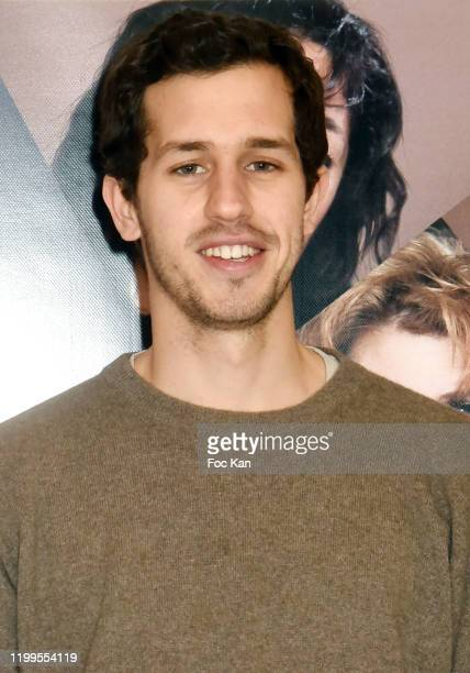 Actor Victor Belmondo attends Pygmalionnes Screening at Assemblee Nationale on January 14 2020 in Paris France