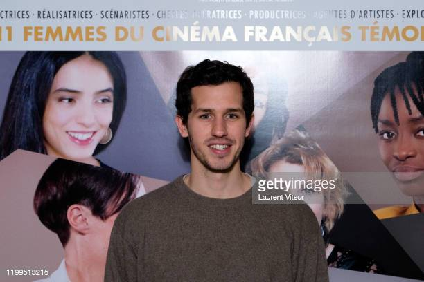 Actor Victor Belmondo attends the Pygmalionnes Screening At Assemblee Nationale on January 14 2020 in Paris France