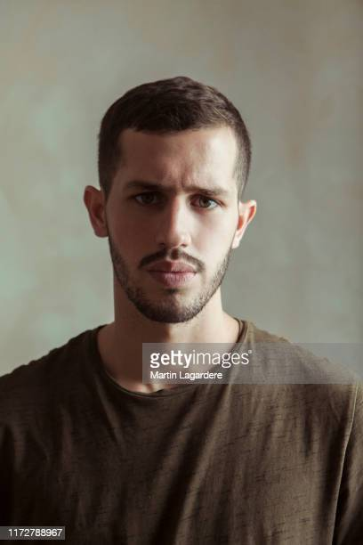 Actor Victor Belmondo poses for a portrait on August 4, 2018 in Paris, France.