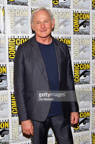 Actor Victor Garber at DC's Legends Of Tomorrow Press Line duirng ComicCon International 2017 at Hilton Bayfront on July 22 2017 in San Diego...