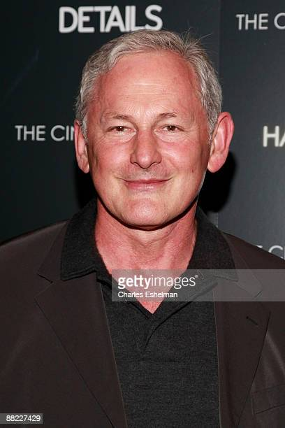 Actor Victor Garber attends a screening of The Hangover hosted by the Cinema Society and Details at the Tribeca Grand Screening Room on June 4 2009...