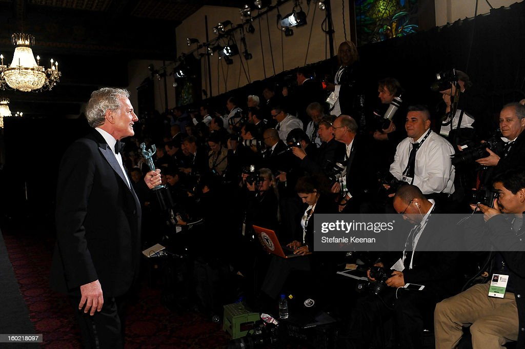 Actor Victor Garber attends the 19th Annual Screen Actors Guild Awards at The Shrine Auditorium on January 27, 2013 in Los Angeles, California. (Photo by Stefanie Keenan/WireImage) 23116_025_2204.jpg