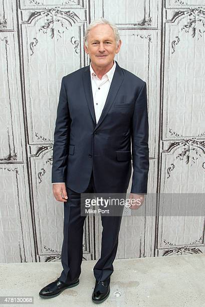 Actor Victor Garber attends the AOL Build Speaker Series at AOL Studios In New York on June 22 2015 in New York City