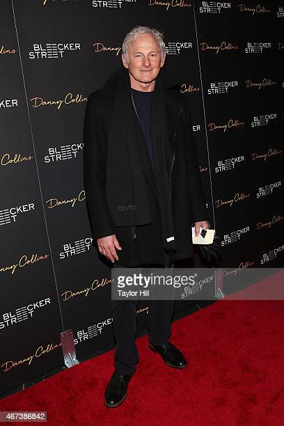 Actor Victor Garber attends the Danny Collins premiere at AMC Lincoln Square Theater on March 18 2015 in New York City
