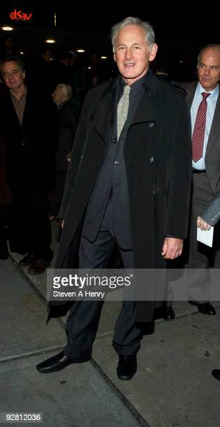 Actor Victor Garber attends the OffBroadway opening night of The Understudy at the Laura Pels Theatre on November 5 2009 in New York City