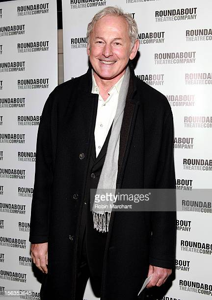 Actor Victor Garber attends the 'The Mystery Of Edwin Drood' Broadway Opening Night at Roundabout Theatre Company's Studio 54 on November 13 2012 in...