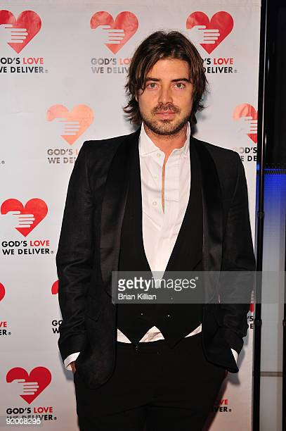 Actor Victor Kubicek attends the 2009 Golden Heart awards at the IAC Building on October 19, 2009 in New York City.