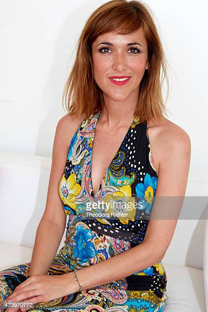 Actor Victoria Bedos is photographed on May 16 2015 in Cannes France
