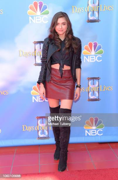 Actor Victoria Konefal attends NBC's Days Of Our Lives Day Of Days fan event at Universal CityWalk on November 10 2018 in Universal City California