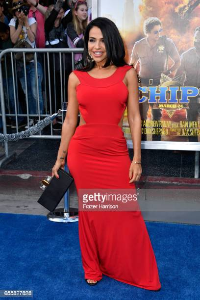 Actor Vida Guerra at the premiere of Warner Bros Pictures' CHiPS at TCL Chinese Theatre on March 20 2017 in Hollywood California