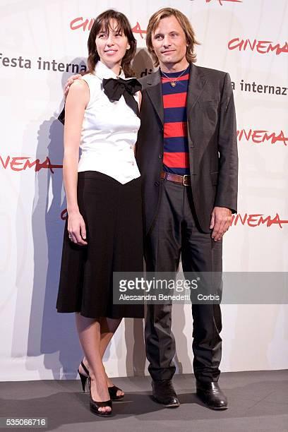 Actor Viggo Mortensen and actress Ariadna GIl pose during a photocall for the presentation of movie Alatriste