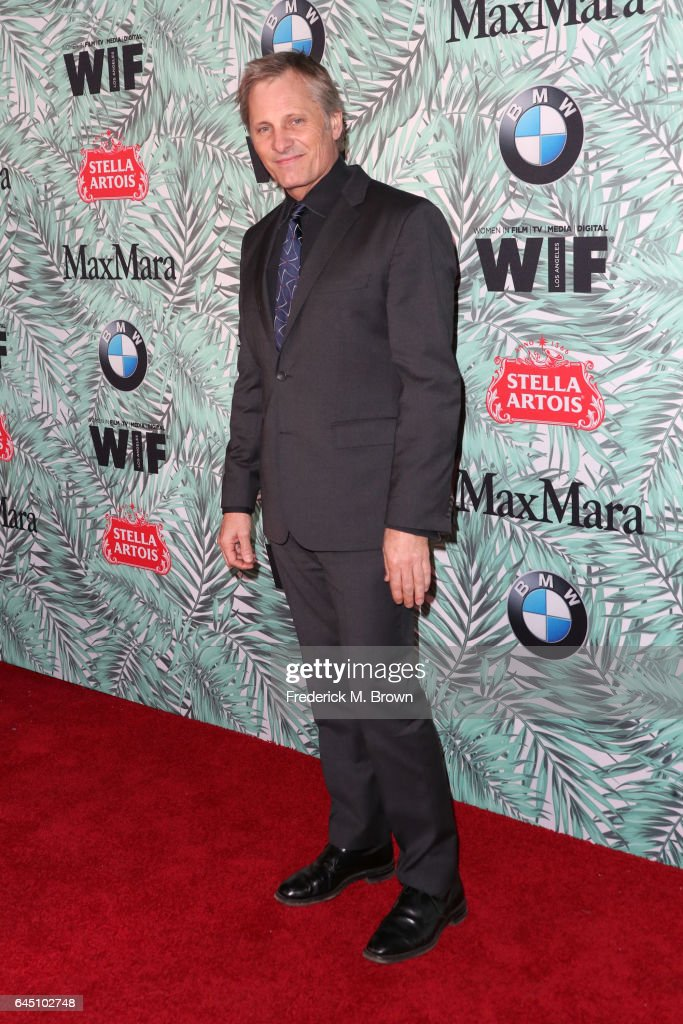 Actor Viggo Mortensen attends the 10th annual Women in Film Pre-Oscar Cocktail Party at Nightingale Plaza on February 24, 2017 in Los Angeles, California.