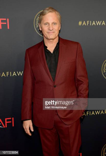 Actor Viggo Mortensen attends the 19th Annual AFI Awards at Four Seasons Hotel Los Angeles at Beverly Hills on January 4 2019 in Los Angeles...