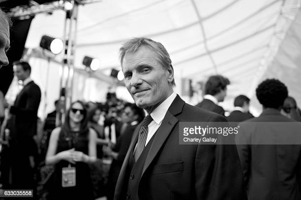 Actor Viggo Mortensen attends The 23rd Annual Screen Actors Guild Awards at The Shrine Auditorium on January 29 2017 in Los Angeles California...