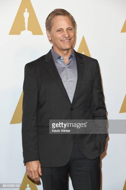 Actor Viggo Mortensen attends the 89th Annual Academy Awards Nominee Luncheon at The Beverly Hilton Hotel on February 6 2017 in Beverly Hills...