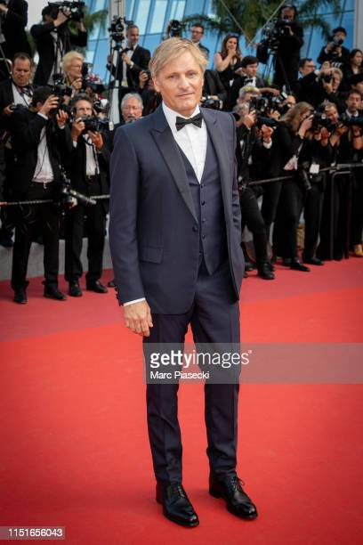 Actor Viggo Mortensen attends the closing ceremony screening of The Specials during the 72nd annual Cannes Film Festival on May 25 2019 in Cannes...