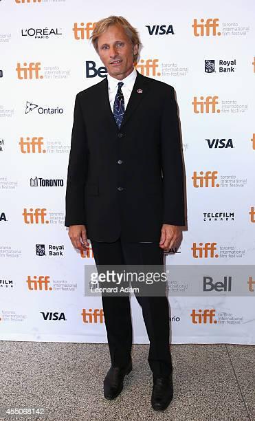 Actor Viggo Mortensen attends the Far From Men premiere during the 2014 Toronto International Film Festival at Winter Garden Theatre on September 9...