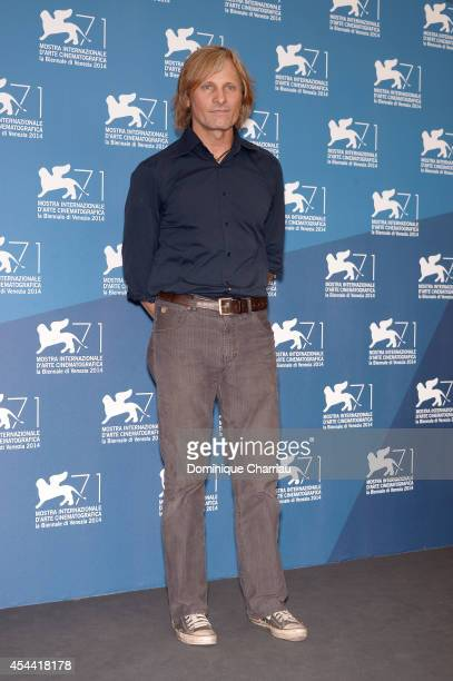 Actor Viggo Mortensen attends the 'Loin Des Hommes' photocall during the 71st Venice Film Festival on August 31 2014 in Venice Italy