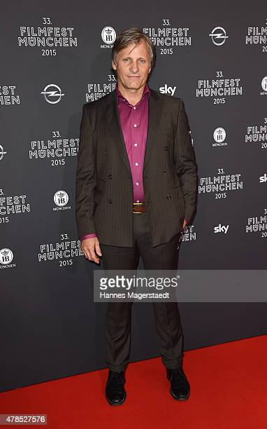 Actor Viggo Mortensen attends the Opening Night of the Munich Film Festival 2015 at Mathaeser Filmpalast on June 25 2015 in Munich Germany