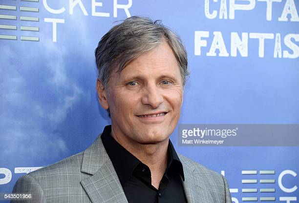 Actor Viggo Mortensen attends the premiere of Bleecker Street Media's Captain Fantastic at Harmony Gold on June 28 2016 in Los Angeles California