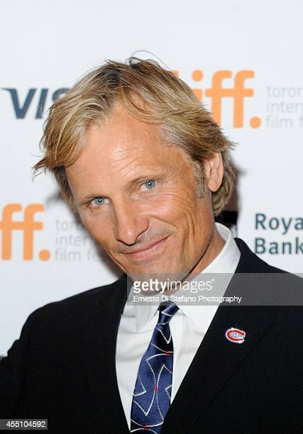 Actor Viggo Mortensen attends the Premiere of Far From Men at the 2014 Toronto International Film Festival at Winter Garden Theatre on September 9...