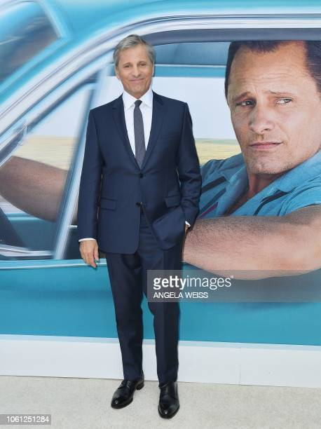 Actor Viggo Mortensen attends the Premiere of 'Green Book' at The Paris Theatre on November 13 2018 in New York City