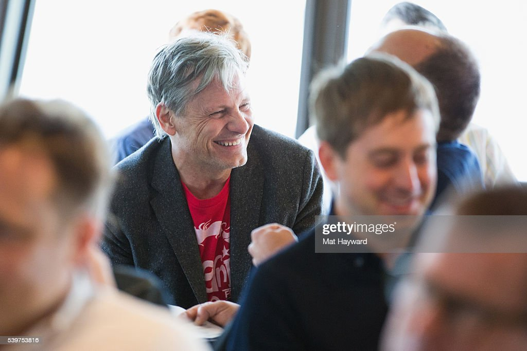 Actor Viggo Mortensen attends the Seattle International Film Festival (SIFF) Golden Space Needle Award ceremony on June 12, 2016 in Seattle, Washington.