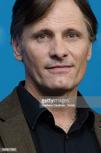 Actor Viggo Mortensen attends the 'The Two Faces of January' photocall during 64th Berlinale International Film Festival at Grand Hyatt Hotel in...