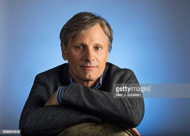 Actor Viggo Mortensen is photographed for Los Angeles Times on June 27 2016 in Los Angeles California PUBLISHED IMAGE CREDIT MUST READ Allen J...