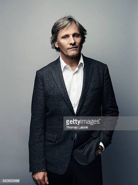 Actor Viggo Mortensen is photographed for Self Assignment on May 17 2016 in Cannes France