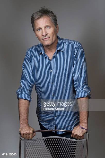 Actor Viggo Mortensen is photographed for Self Assignment on October 15 2016 in Rome Italy