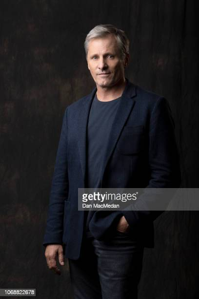 Actor Viggo Mortensen is photographed for USA Today on November 6 2018 in West Hollywood California