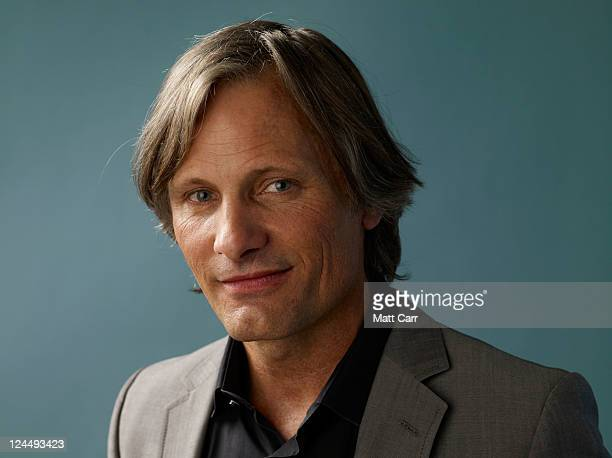 Actor Viggo Mortensen of A Dangerous Method poses for a portrait during the 2011 Toronto Film Festival at the Guess Portrait Studio on September 10...