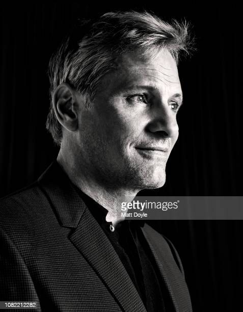 Actor Viggo Mortensen poses for a portrait at The National Board of Review Annual Awards Gala on January 8 2019 at Cipriani 42nd Street in New York...
