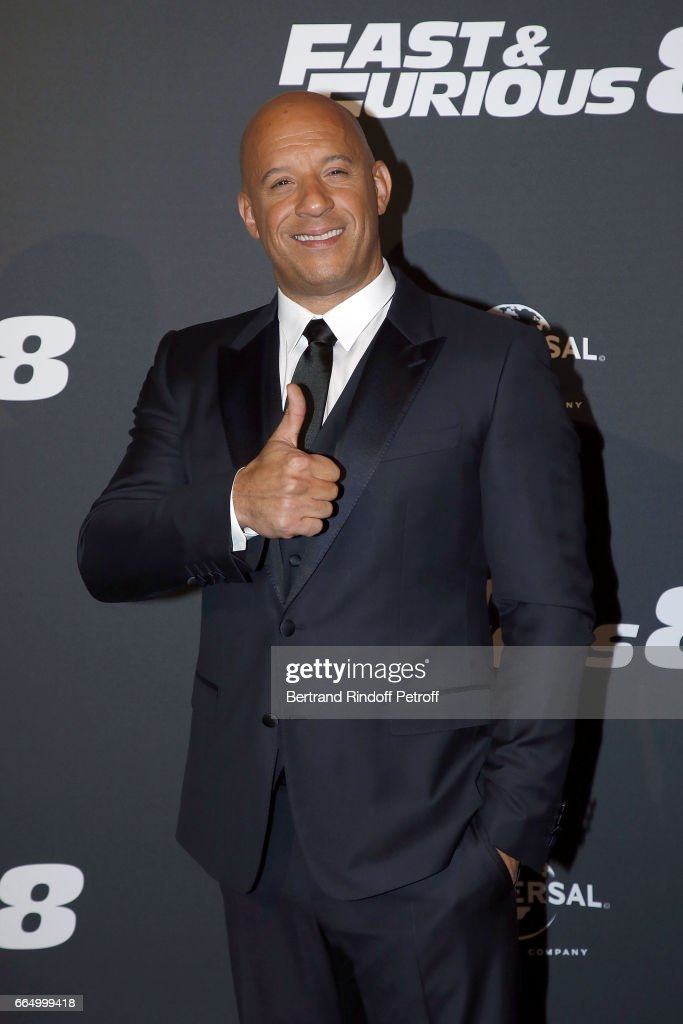 """Fast & Furious 8"" Paris Premiere At Le Grand Rex"